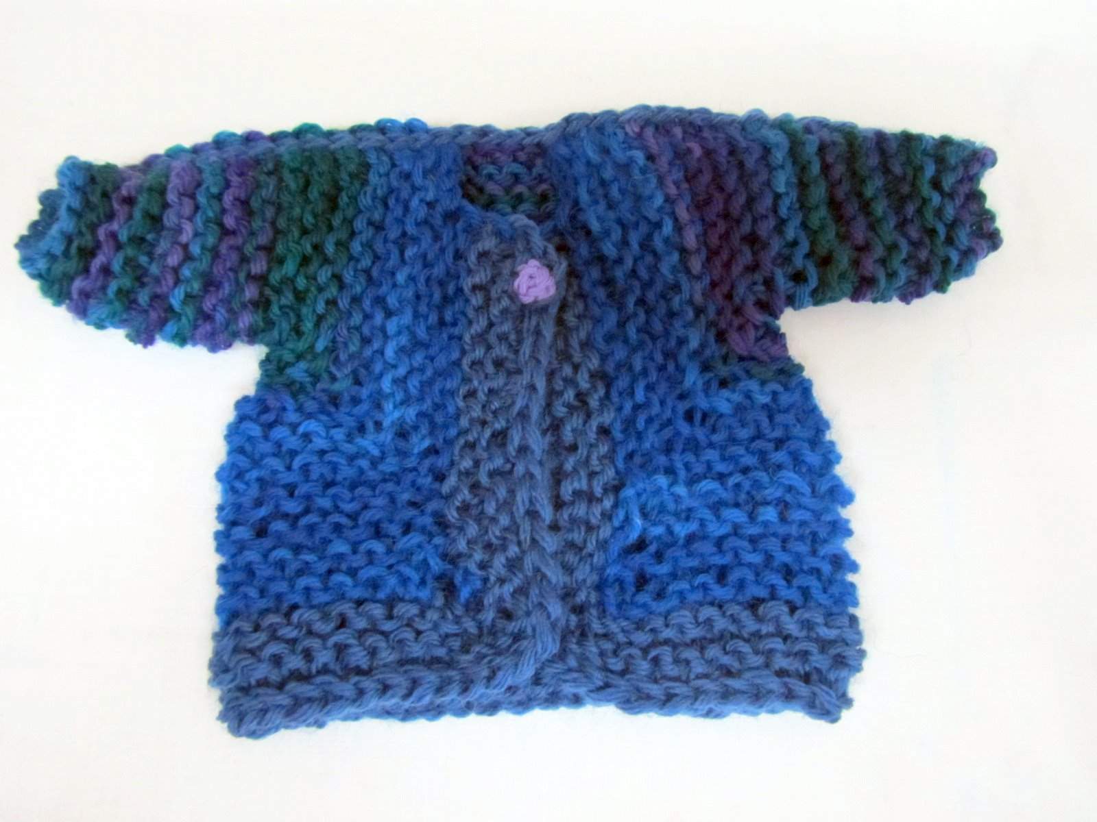 Free Knitting Patterns For Neck Warmers : Fibermania: Doll-Baby Surprise Jacket