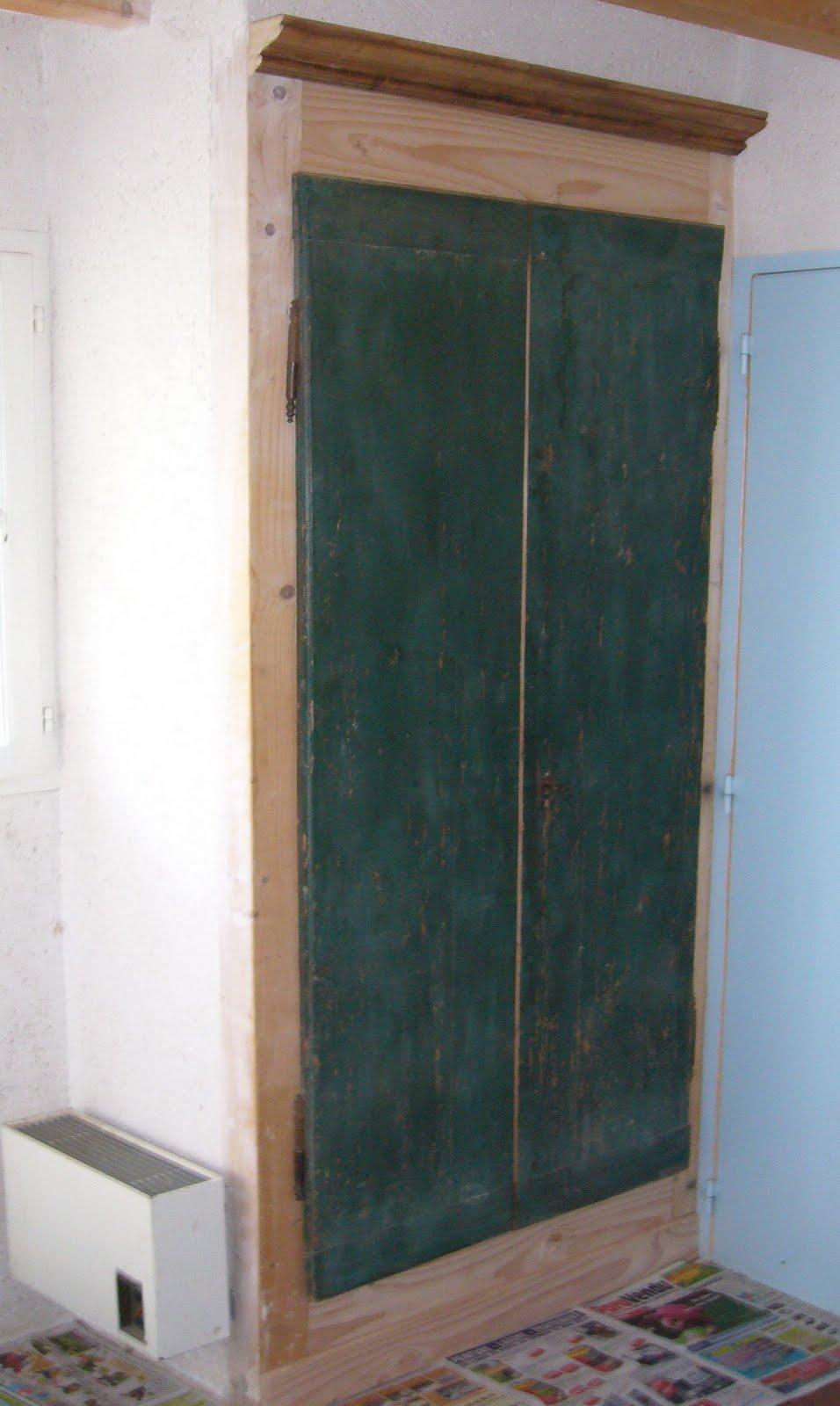Trompe l 39 oeil autour d 39 anciennes portes for Trompe oeil porte ancienne
