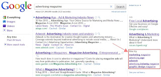 Google Testing New Ways to Dispay AdWords in SERP?