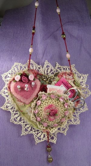 ~ Shabby Chic Chatelaine~