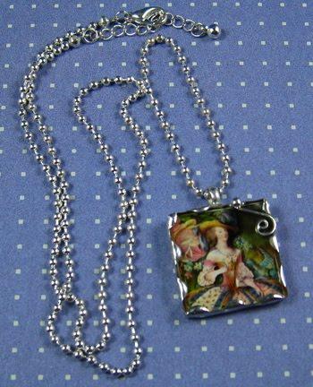 ~Soldered Charm pendant ~