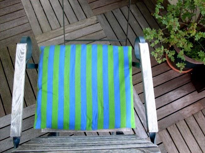 Garten-anders: Sitzkissen für Gartenstühle: Was man da so ...