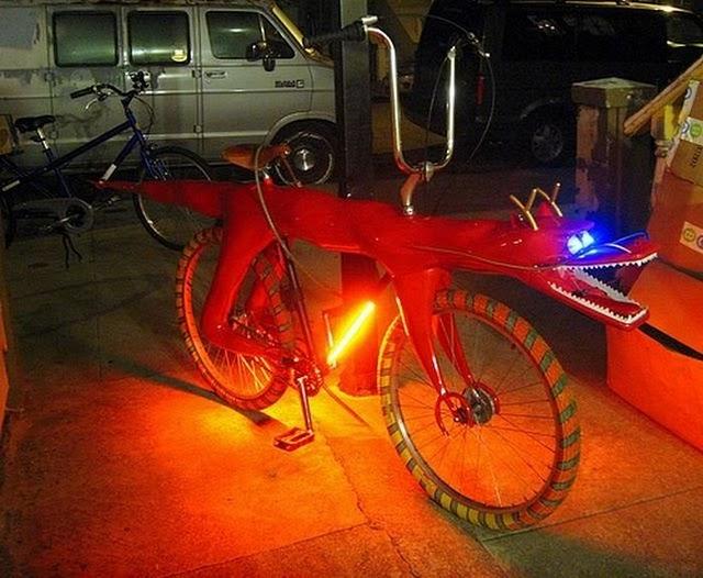 Sepedah Unik4