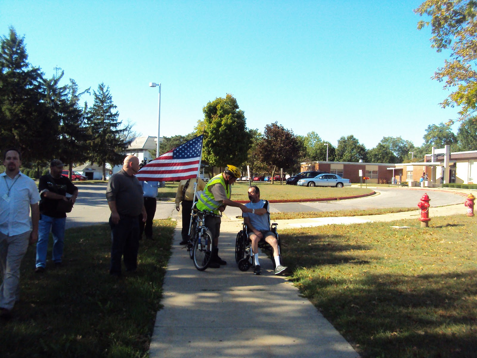 Illinois vermilion county muncie - I Certainly Never Expected The Hero S Welcome And All The Applause I Got Each Time A Group Applauded Me I Told Them I Took The Applause As Being For All