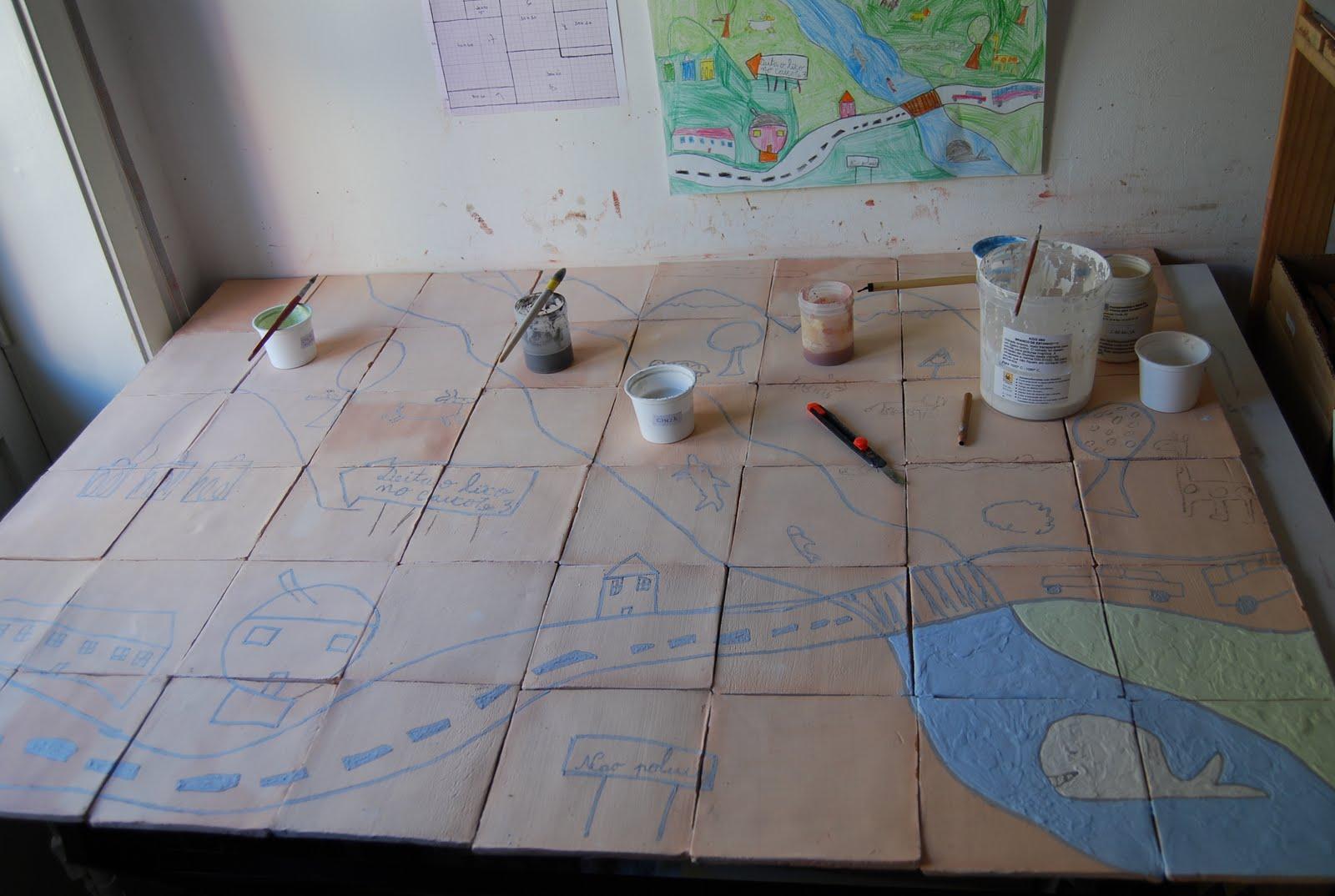 Sofia be a pintura de azulejos for Pintura para azulejos