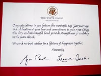 Preserve memories of special occasions with a unique personalized heres a sample of the greeting you can get from the white house that i found on the blog 33 for a moment where i learned you can also get one for m4hsunfo