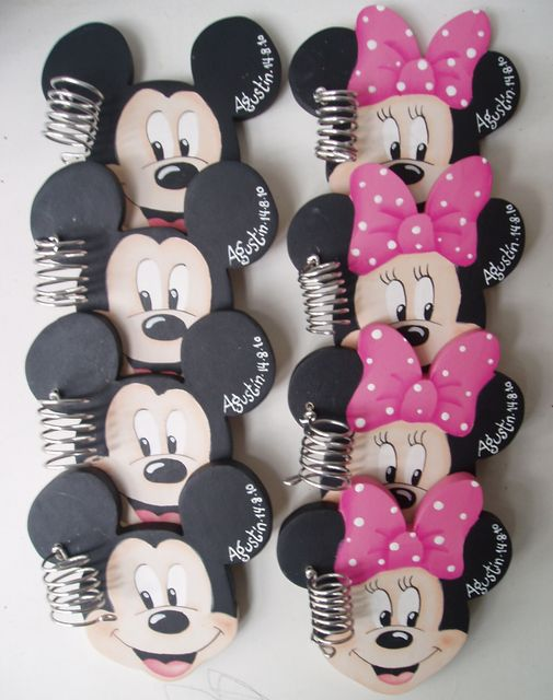 souvenirs: Mickey & Minnie