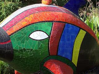 Fish scuplture by Niki de Saint-Phalle