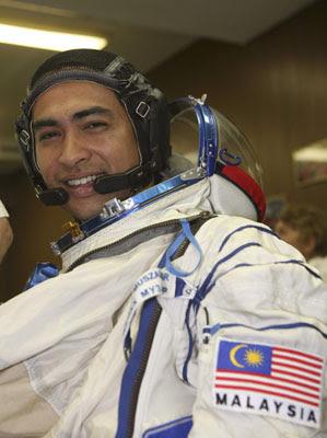 First Astronaut Sheikh Muszaphar Shukor