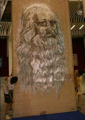 largest nail mosaic