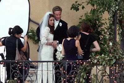 Kate Walsh and Alex Young's Wedding