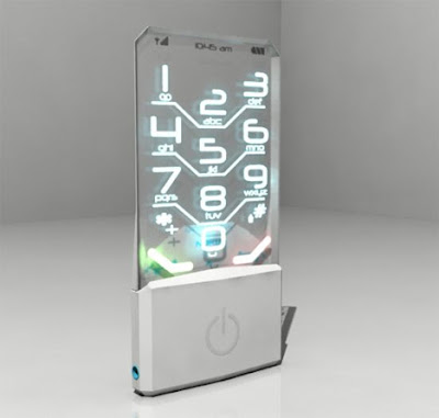 Completely Transparent Nokia Cell Phone