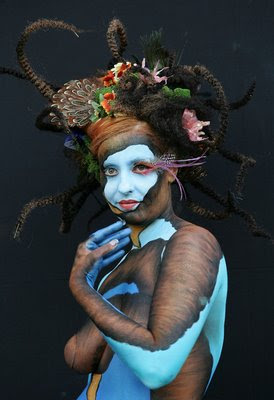 Human Body Art Painting 2011