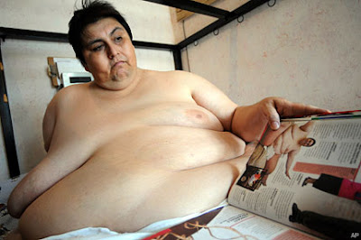 The world's heaviest man is in love