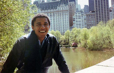 He studied at Columbia University in New York, where he majored in political science