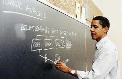 Obama returned to Chicago