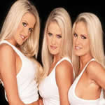 The 6 Hottest Female Triplets On The World