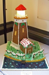 Gingerbread Lighthouse