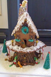 Magical Gingerbread Tree House