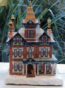 Red Brick Gingerbread House