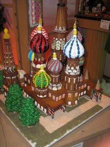 Gingerbread Kremlin