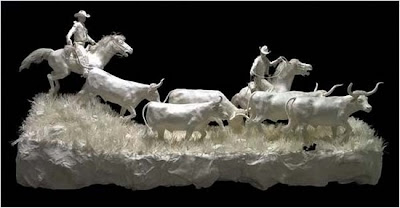 60 Amazing Paper Sculptures photos