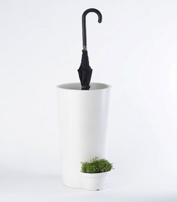 creative pot design allows rainwater