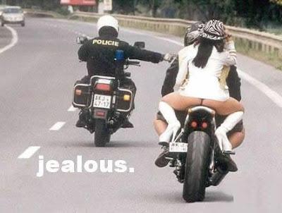 Cop Jealous of he's girlfriend