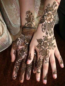2011 Mehndi dulhan patterns