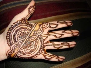 Pakistani dulhan Mehndi patterns