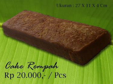 Cake Rempah