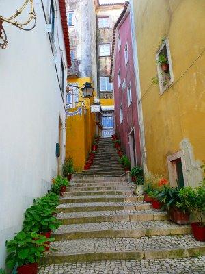 walkway at Sintra