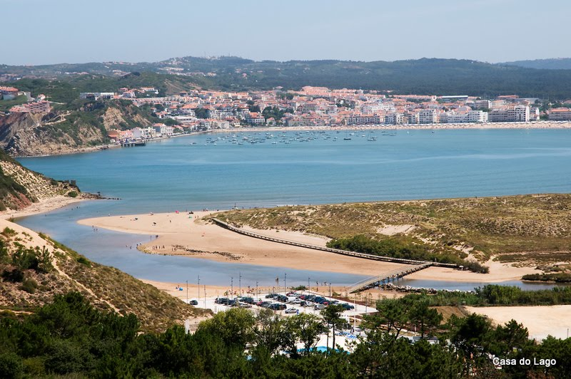 São Martinho do Porto, viewed from  Salir do Porto