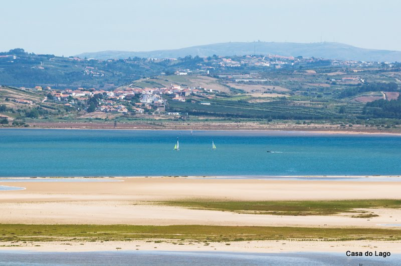 Sailing at Obidos Lagoon, holidays in Portugal
