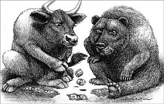 Бык и медведь
