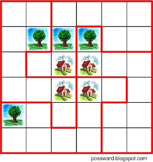 дома и деревья
