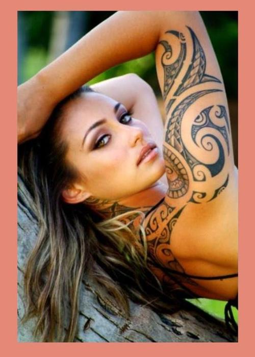 If you're looking for the sexiest female tattoo designs and locations,