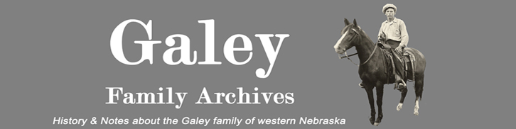 Galey Family Archives