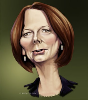 Julia Gillard caricature