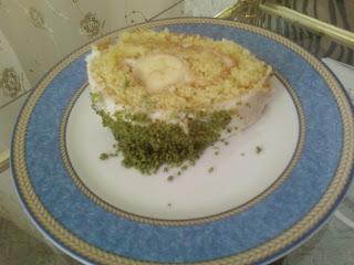 muzlu rulo,yas pasta,resımli kolay yas pasta,pratik yaş pasta,muzlu pasta