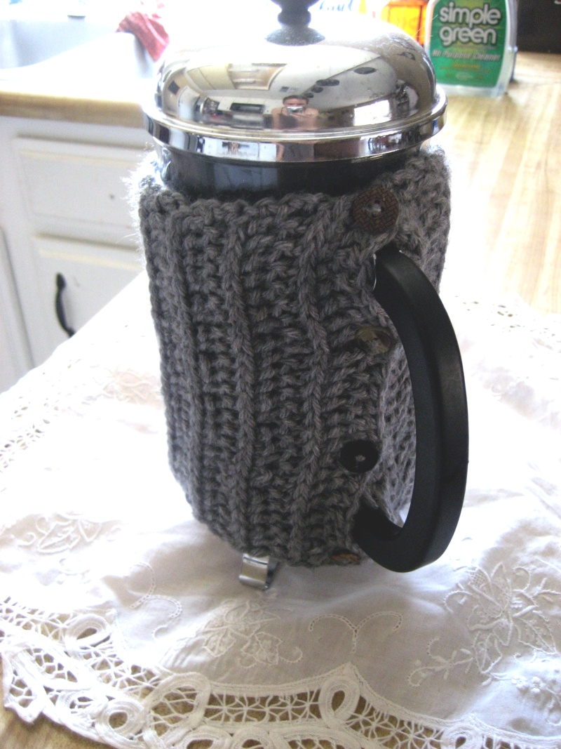Crochet Every Day: Coffee Cozy Patterns