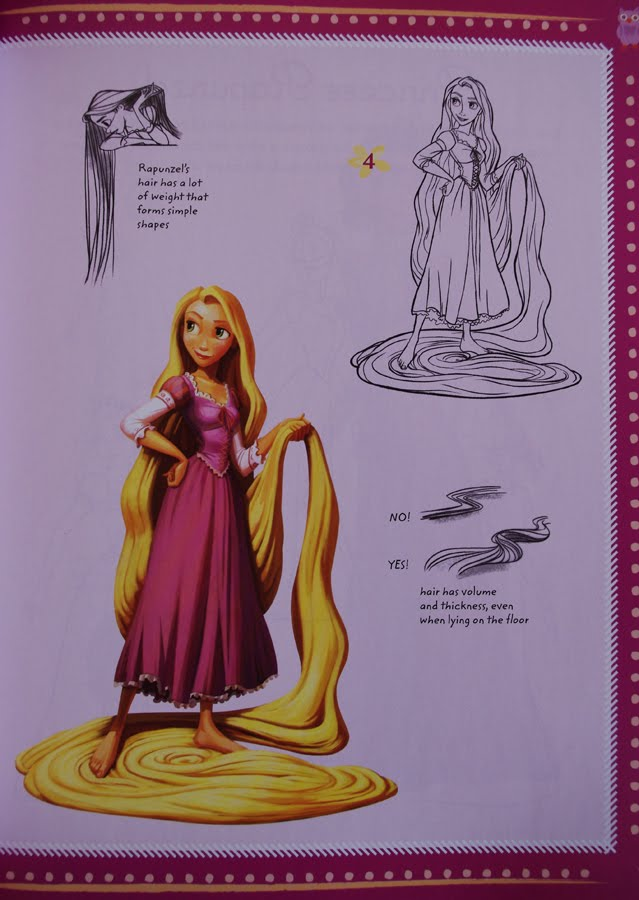 If you can dream the dream we 39 re making on a star is coming true learn to draw tangled - Apprendre a dessiner raiponce ...
