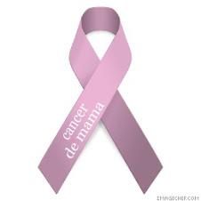 por el cancer de mama