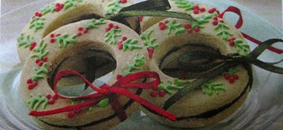 Kue Kering Vanila Lapis Cokelat