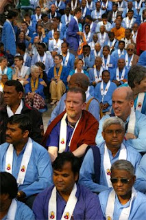 Triratna Dharmacarins at the 2009 Convention