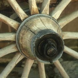 cart wheel photo