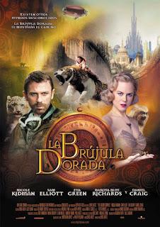 La Brújula Dorada Poster