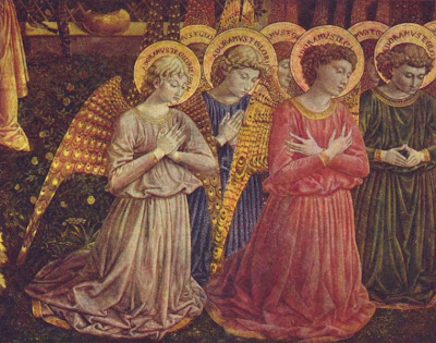 choir of angels in the apse.