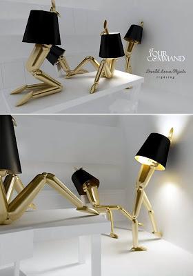 Mannequim Lamps