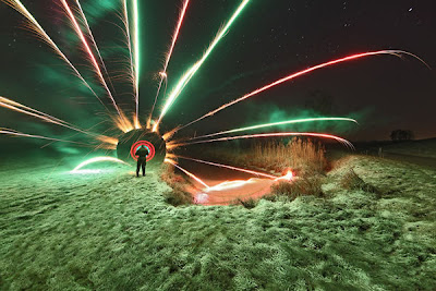 amazing light graffiti photography